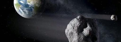 Niemiecki z newsów: Asteroid hat die Erde passiert
