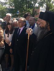 Δήλωση του Υπουργού Παιδείας μετά την τελετή θεμελίωσης της Ραλλείου Σχολής Πειραιά