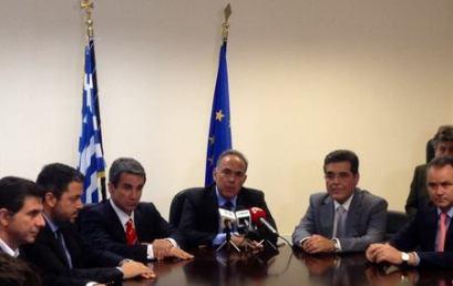 Δήλωση κ. Κ. Αρβανιτόπουλου κατά την τελετή παράδοσης-παραλαβής του Υπουργείου Παιδείας και Θρησκευμάτων