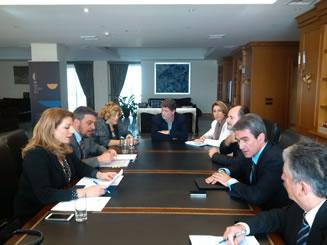 Συνάντηση Υπουργού Παιδείας με την Υφυπουργό Πολιτισμού, Άντζελα Γκερέκου