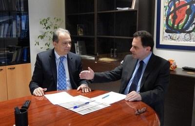 Επίσκεψη του Υφυπουργού Παιδείας στην Περιφερειακή Διεύθυνση Εκπαίδευσης Κεντρικής Μακεδονίας