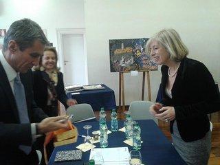 Συνάντηση Α. Λοβέρδου με Υπουργό Παιδείας της Ιταλίας