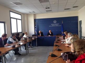 Συνάντηση Υπουργού με περιφερειακούς συντονιστές δράσεων για τη σχολική βία