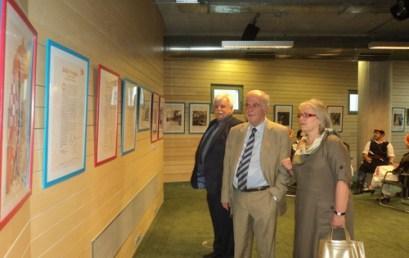 Ο Δήμαρχος Ηρακλείου στην έκθεση «Οι όμορφες εικόνες του Βελγικού Κέντρου Κόμικς»