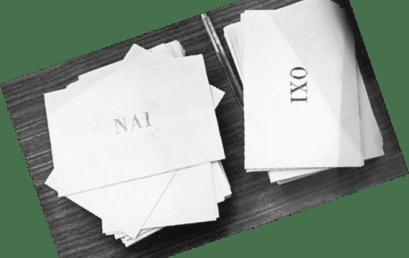 Τα ψιλά γράμματα του διχασμού