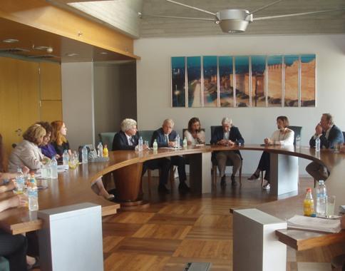Συνάντηση Γ.Μπουτάρη με γερμανική αντιπροσωπεία με στόχο τη διερεύνηση δημιουργίας ελληνο-γερμανικού Ιδρύματος Νεολαίας στην Ελλάδα