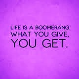 life is a booomerang