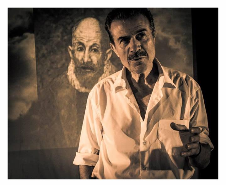 """Θεατρική παράσταση: """"Αναφορά στον Γκρέκο""""  του Νίκου Καζαντζάκη»."""
