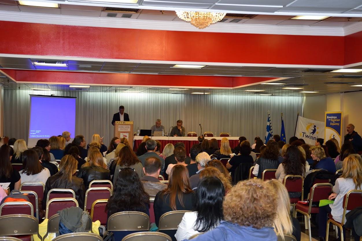 2ο Πανελλήνιο Συνέδριο eTwinning, Πάτρα 13-15/11/2015
