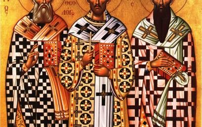 Την Παρασκευή 29-01 ο εορτασμός των Τριών Ιεραρχών
