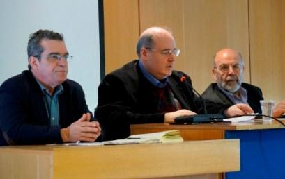 Ομιλίες του Γ.Γ. του υπουργείου, Γιάννη Παντή, και του Προέδρου της Επιτροπής για την Παιδεία, Αντώνη Λιάκου στην ολομέλεια