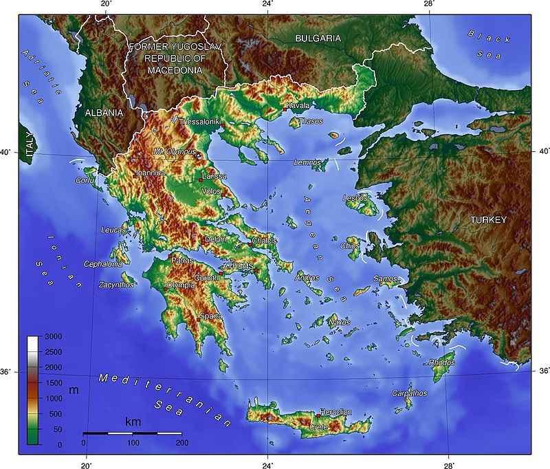 Η Ελλάδα και η θάλασσα