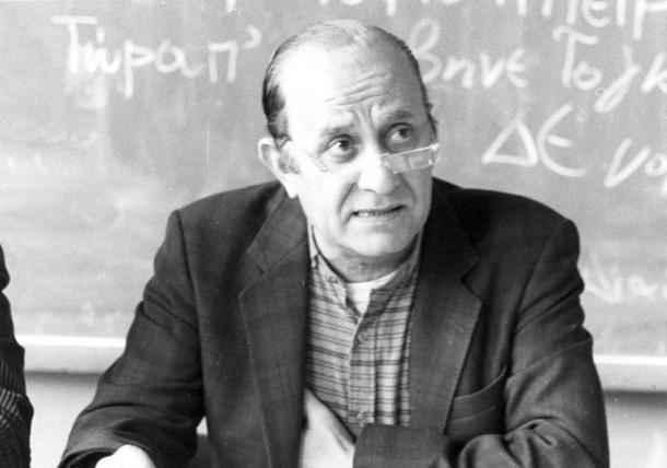 Σύνδεσμος Φιλολόγων Πιερίας, Ψήφισμα για το θάνατο του Δ.Ν. Μαρωνίτη.