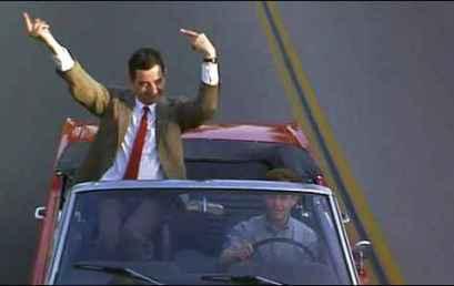 Το μεσαίο δάκτυλο του Mr Bean