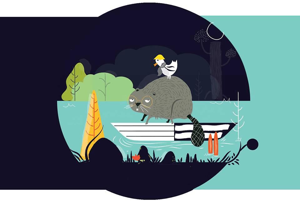Παιδική παράσταση: Ο μικρός κάστορας και η ηχώ