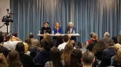 """Εκδήλωση με τους ποιητές Κυριάκο Χαραλαμπίδη και Αντώνη Φωστιέρη με θέμα """"Ποίηση και Μεταφυσική"""""""