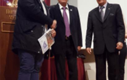 Βράβευση Δρ. Πολύβιου Ν. Πρόδρομου και Γ. Γιοβάνη για τα δοκίμιά τους από τον Ε.Π.Ο.Κ. στο πλαίσιο του 7ου Διεθνούς Λογοτεχνικού Διαγωνισμού.