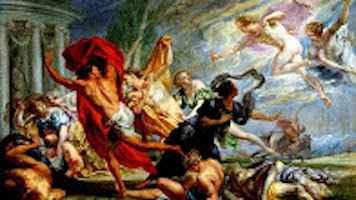 Τα παιδιά της Νιόβης – Έπαρση & τιμωρία