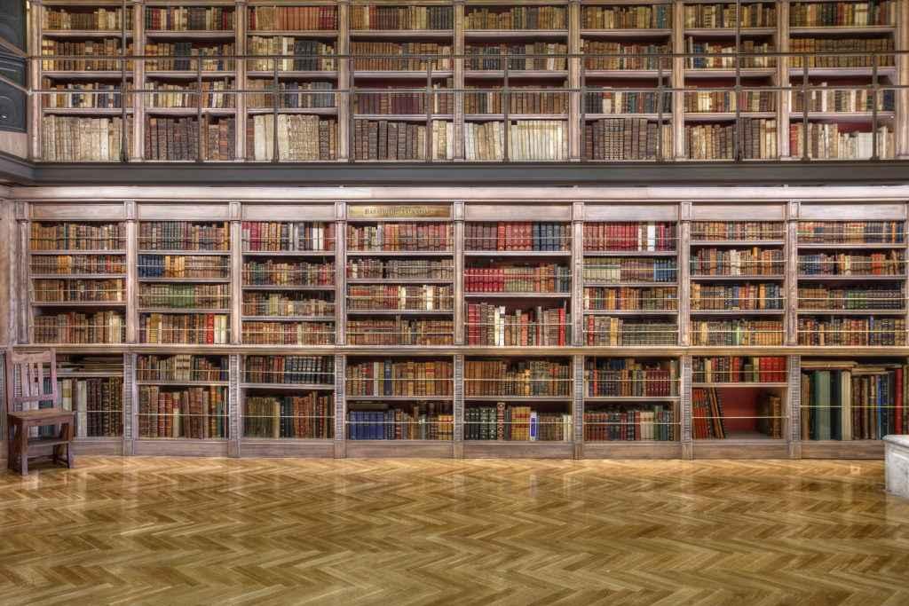 Εγώ και η βιβλιοθήκη