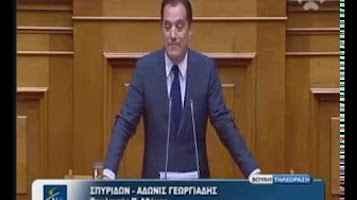 Ομιλία του Άδωνι Γεωργιάδη για τα Πανεπιστήμια στη Βουλή 31/07/2017