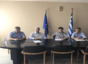 Συνάντηση του Υφυπουργού Παιδείας Δημήτρη Μπαξεβανάκη στο Επιμελητήριο Ηλείας για τη στήριξη του προγράμματος Μαθητείας