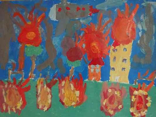 Παιδιά ζωγραφίζουν για την ειρήνη με αφορμή ένα ποίημα του Ναζίμ Χικμέτ