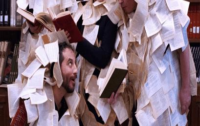 IANOS: Ομάδα θεάτρου «Νοητή Γραμμή» | Ex Libris