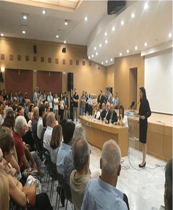 Τελετή παράδοσης – παραλαβής στο Υπουργείο Παιδείας και Θρησκευμάτων