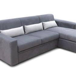 divano letto zaffiro angolo slim - filo rosso divani store