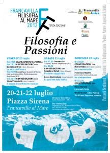 locandina Filosofia al Mare 2012 - Filosofia e Passioni