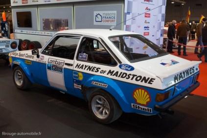 Rétromobile 2015 - Ford Escort Rallye