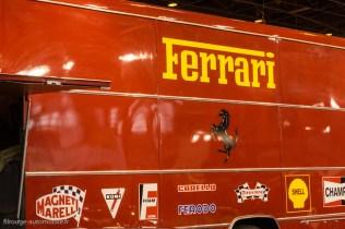 Rétromobile 2015 - Camion Ferrari