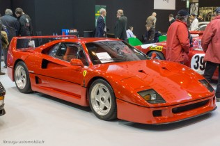 Rétromobile 2015 - Ferrari F40
