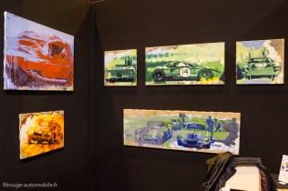 Rétromobile 2015 - Le stand de Yahn Janou