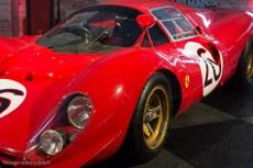 Ferrari P3/4 abandon aux 24 Heures du Mans 1966