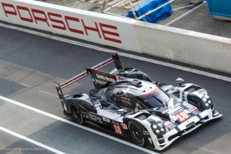 Porsche 919 Hybrid - Cinquième des 24 Heures du Mans 2015