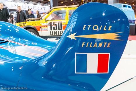 Rétromobile 2016 - Renault Etoile Filante