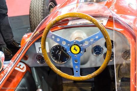 Rétromobile 2016 - poste de conduite Ferrari F1