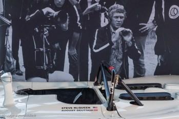 Rétromobile 2016 - animation ACO Steeve McQueen