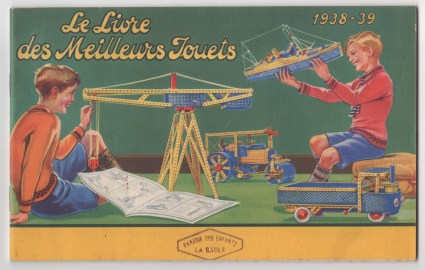 Catalogue Meccano 1938 - 39