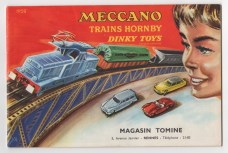 Catalogue Meccano 1958
