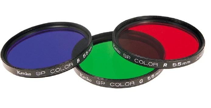 Kleurenfilters.