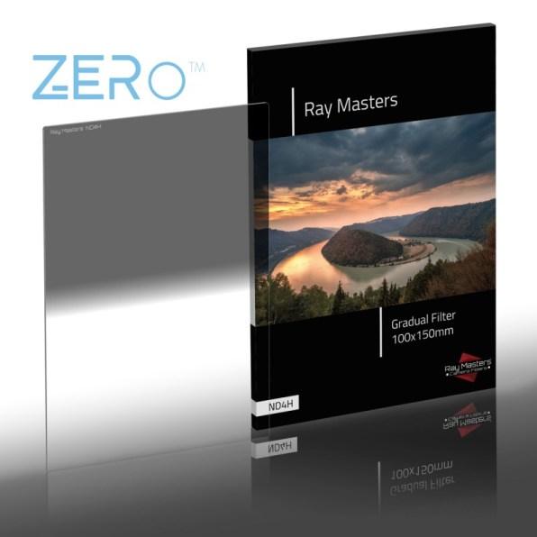 Ray Masters 2-stops grijsfilter met harde overgang.