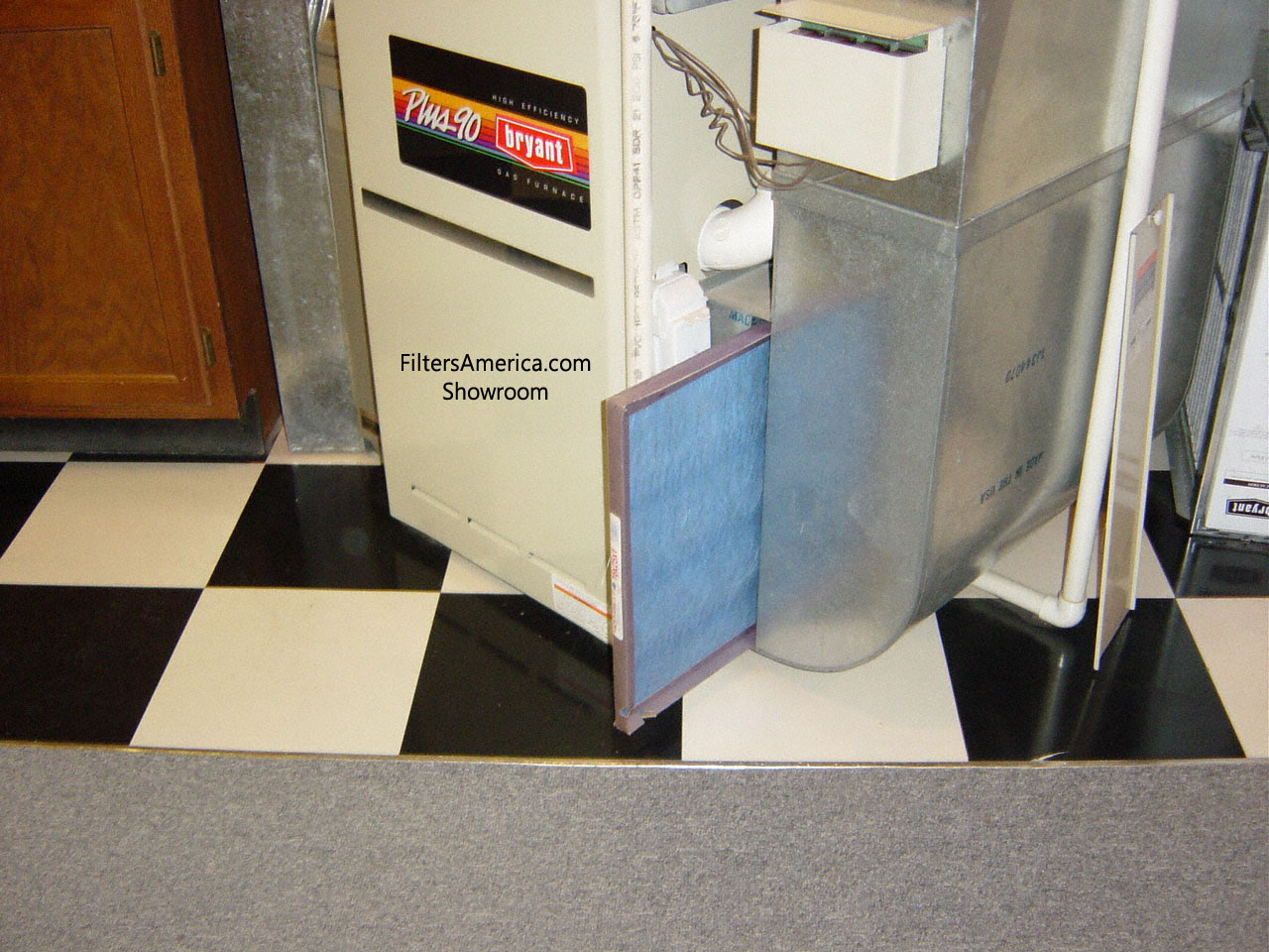 how to clean soot from gas furnace