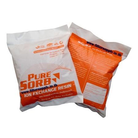 สารกรองน้ำเรซิ่น Pure Sorb ขนาด 1 ลิตร