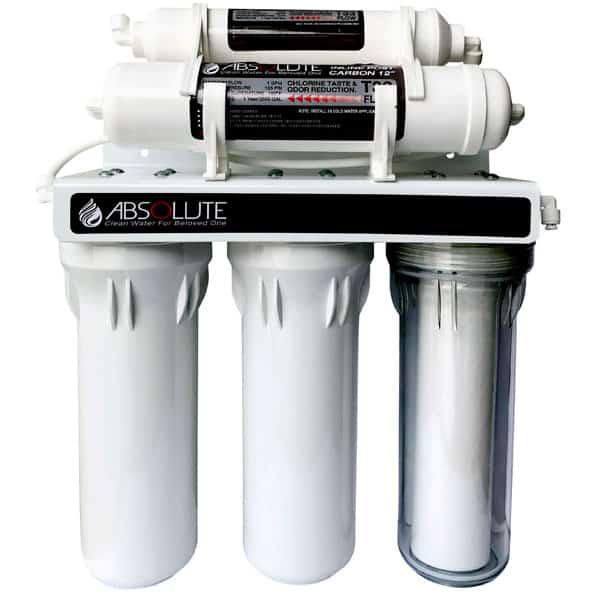 เครื่องกรองน้ำ Absolute 5 ขั้นตอน แบบมีไส้กรองน้ำเรซิ่น (AB05NRS)