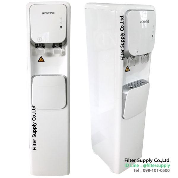 ตู้น้ำดื่ม 2 อุณหภูมิ Aquatek WHP850 ระบบกรอง RO ขนาด 85 GPD
