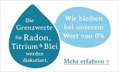 Blei im Trinkwasser - Mit SONVITA bleiben Sie Bleifrei!