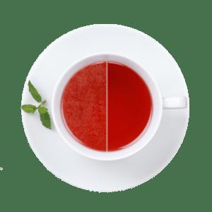 Störende Kalkschicht auf dem Tee
