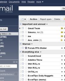Priority Inbox la Gmail